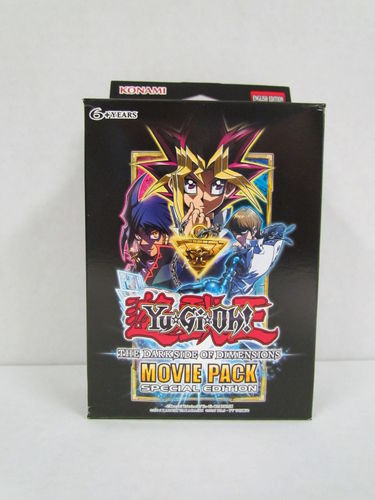 YuGiOh The Dark Side of Dimensions Movie Pack Special Edition