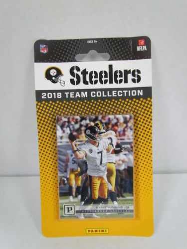 2018 Panini Football Team Set PITTSBURGH STEELERS