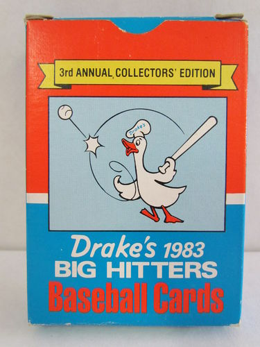 1983 Drake's Big Hitters Baseball Factory Set