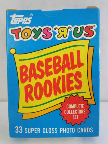 1987 Topps Toys R Us Rookies Baseball Factory Set