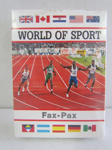 1993 Fax Pax World of Sport Factory Set