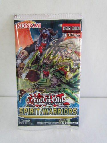 YuGiOh Spirit Warriors 1st Edition Booster Pack