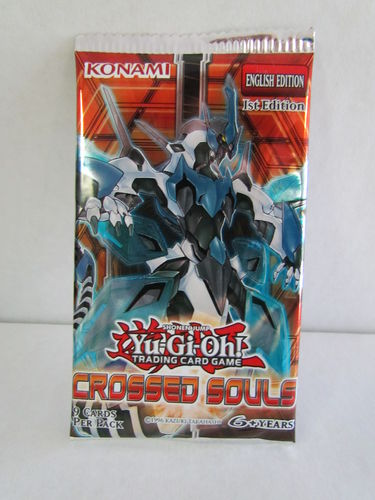 YuGiOh Crossed Souls 1st Edition Booster Pack