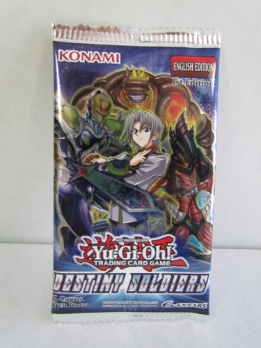 YuGiOh Destiny Soldiers 1st Edition Booster Pack