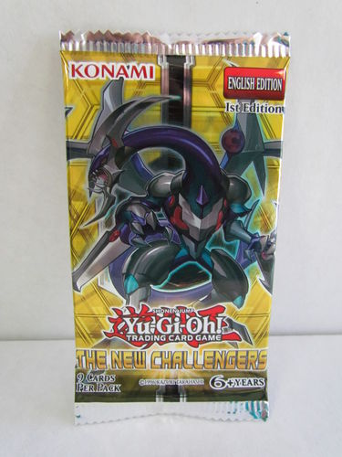 YuGiOh New Challengers 1st Edition Booster Pack