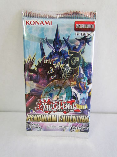 YuGiOh Pendulum Evolution 1st Edition Booster Pack