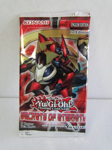 YuGiOh Secrets of Eternity 1st Edition Booster Pack