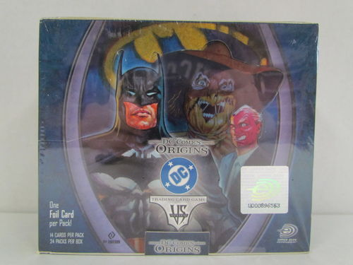Upper Deck VS System DC Comics Origins Booster Box