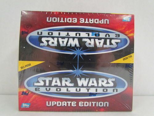 Topps Star Wars Evolution Update Edition Hobby Box