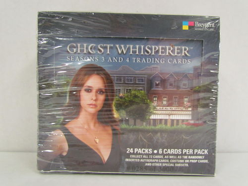 Breygent Ghost Whisperer Seasons 3 and 4 Trading Cards Box