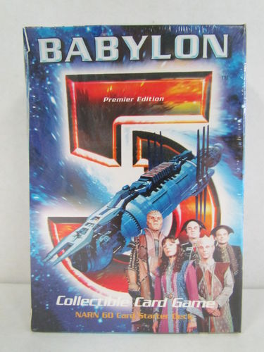 Babylon 5 Collectable Card Game Starter Deck NARN