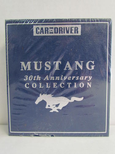 Car and Driver MUSTANG 30th Anniversary Collection Box Set
