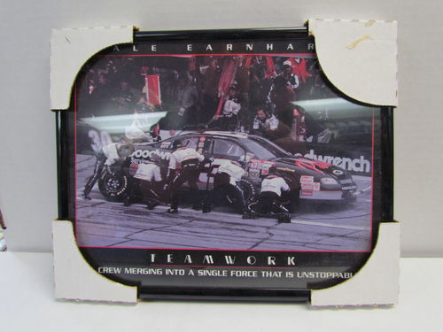 1998 Dale Earnhardt Picture Frame - Teamwork