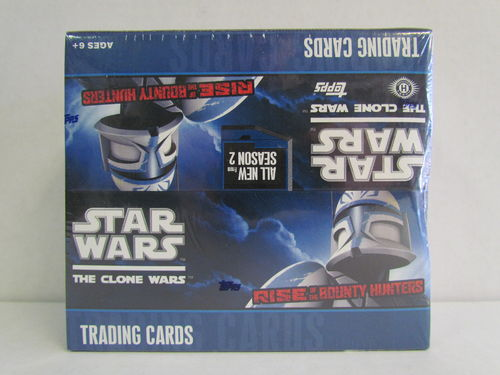 Topps Star Wars The Clone Wars Rise of the Bounty Hunters Hobby Box