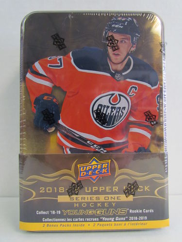 2018/19 Upper Deck Series 1 Hockey Tin