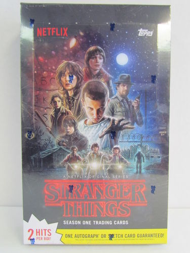 Topps Stranger Things Season One Hobby Box