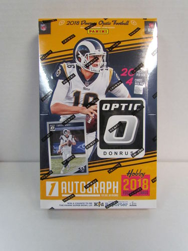 2018 Panini Donruss Optic Football Hobby Box