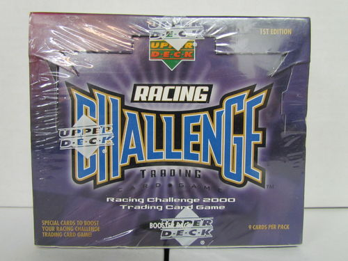 2000 Upper Deck Racing Challenge 1st Edition Booster Box