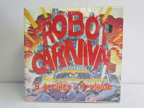 Cornerstone Masters of Japanese Animation Series 1: ROBOT CARNIVAL Trading Cards Box