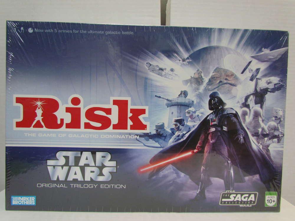 Risk Star Wars Original Trilogy Edition Game