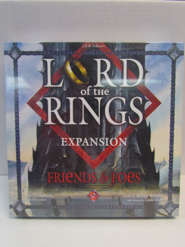 Lord of the Rings Friends & Foes Expansion Board Game