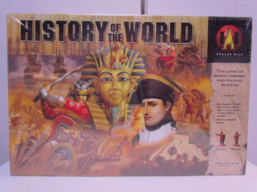 History of the World (Avalon Hill) Board Game