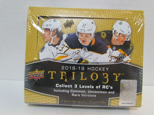 2018/19 Upper Deck Trilogy Hockey Box