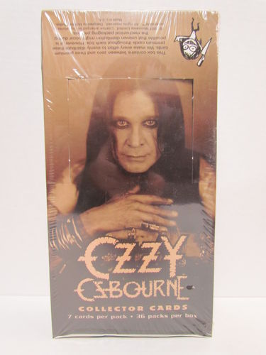 NECA Monowise Limited OZZY OZBOURNE Collector Cards Box