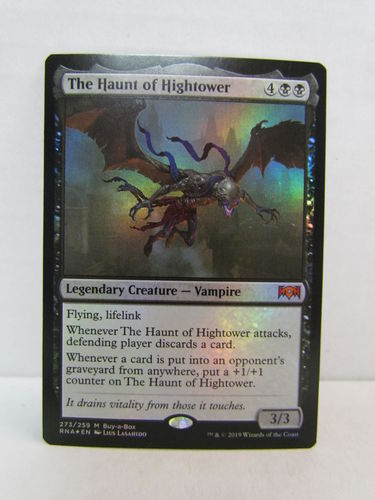Magic the Gathering Ravnica Allegiance Booster Box Buy-A-Box Promo Card