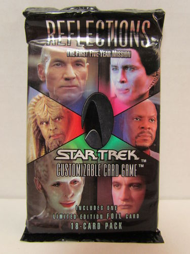 Decipher Star Trek Reflections Booster Pack