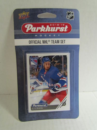 2018/19 Upper Deck Parkhurst Hockey Set NEW YORK RANGERS