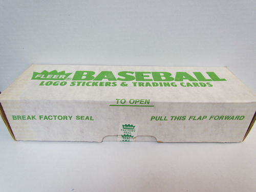 1988 Fleer Baseball Factory Set (Seal Broken)