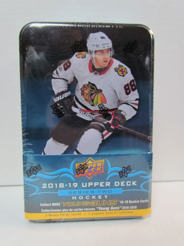 2018/19 Upper Deck Series 2 Hockey Tin