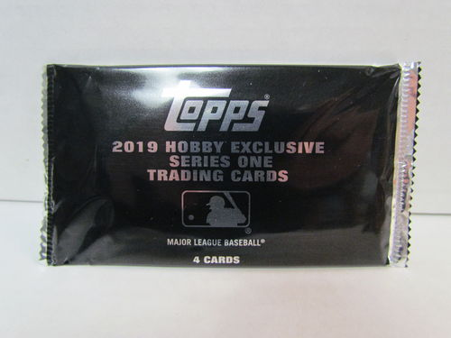 2019 Topps Series 1 Baseball Silver Pack