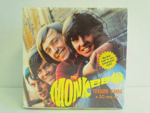 Cornerstone The MONKEES Trading Cards Box