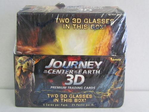 Inkworks JOURNEY TO THE CENTER OF THE EARTH 3D Trading Cards Box
