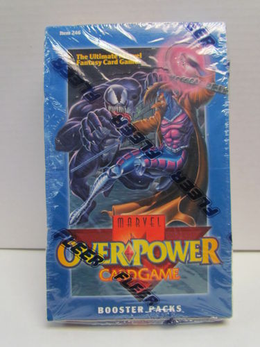 Fleer Marvel Overpower Booster Box