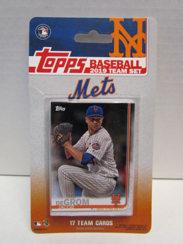 2019 Topps Team Set New York Mets