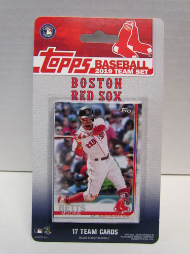 2019 Topps Team Set Boston Red Sox