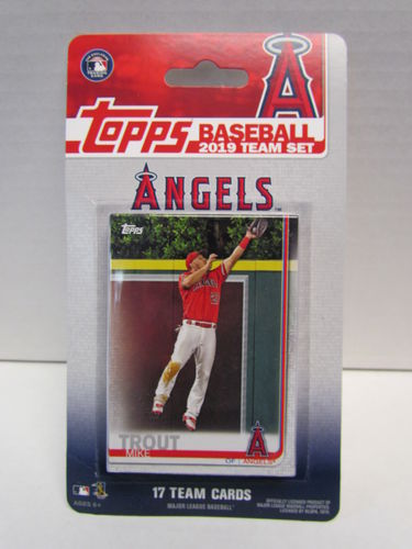 2019 Topps Team Set Los Angeles Angels