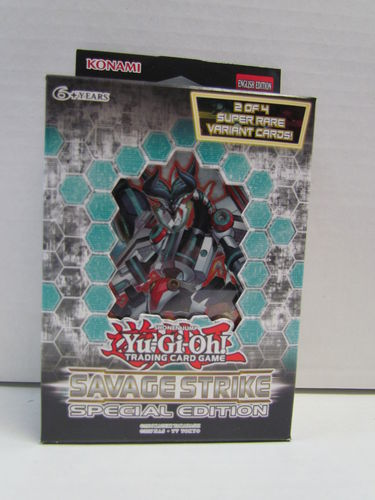 YuGiOh Savage Strike Special Edition Pack