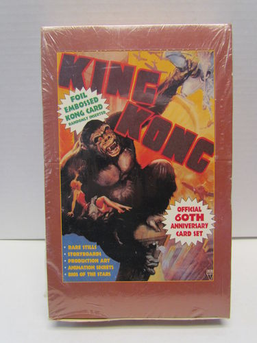Eclipse King Kong 60th Anniversary Movie Trading Cards Box