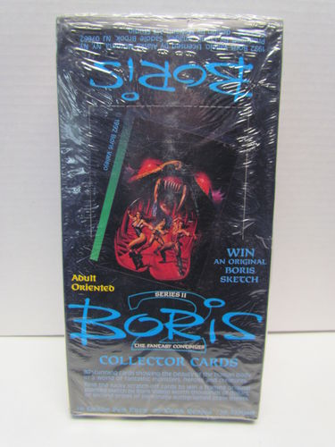 Comic Images BORIS Series II Collector Trading Cards Box