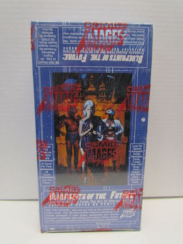 Comic Images Blueprints of the Future: Vincent Di Fate Collector Trading Cards Box