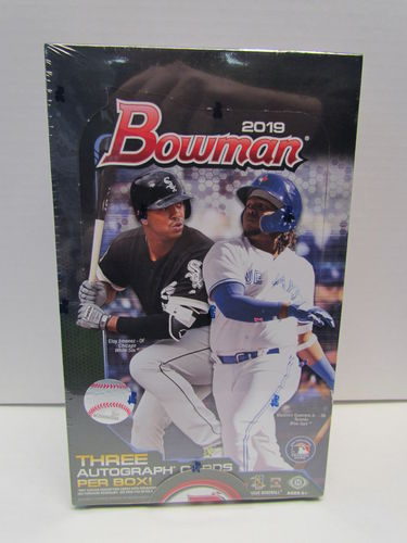 2019 Bowman Baseball Jumbo Box
