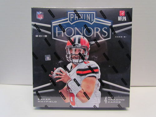 2018 Playoff Honors Football Hobby Box