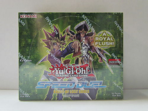 YuGiOh Speed Duel Arena of Lost Souls 1st Edition Booster Box