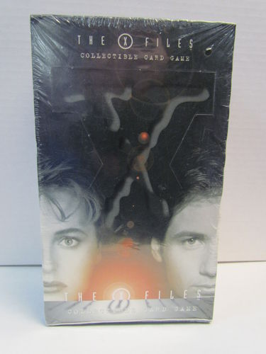 The X-Files Premiere Edition Collectible Card Game Booster Box