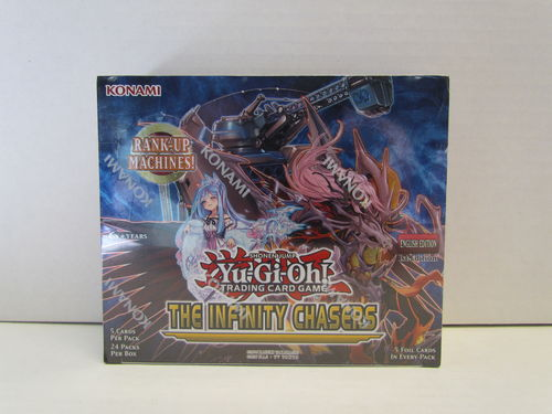 YuGiOh The Infinity Chasers 1st Edition Booster Box