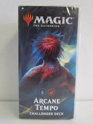 Magic the Gathering 2019 Challenger Deck ARCANE TEMPO